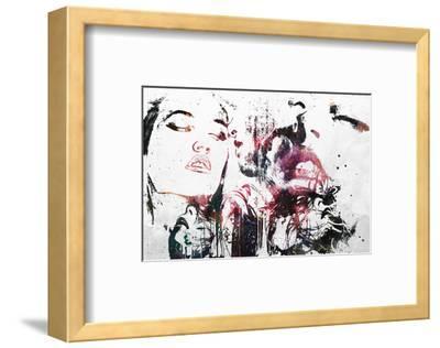 Love Will Tear Us Apart-Alex Cherry-Framed Art Print