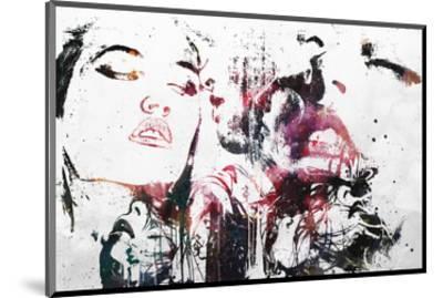 Love Will Tear Us Apart-Alex Cherry-Mounted Art Print