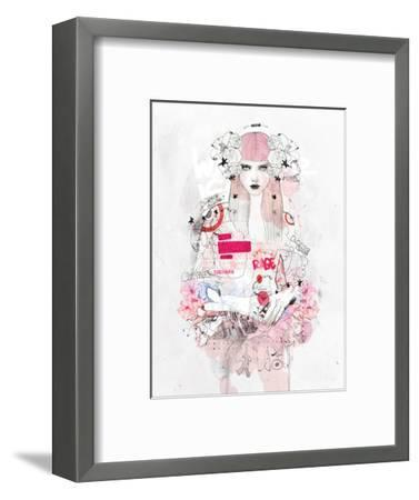 Battle Zone-Mydeadpony-Framed Art Print