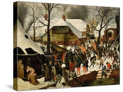 The Adoration of the Magi-Pieter Brueghel the Younger-Stretched Canvas Print