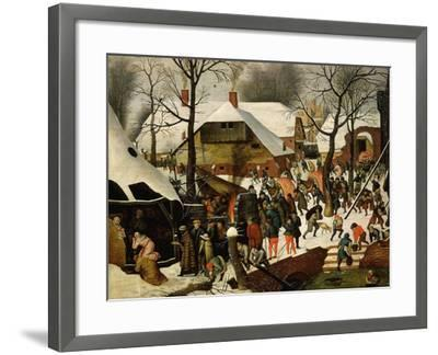 The Adoration of the Magi-Pieter Brueghel the Younger-Framed Giclee Print