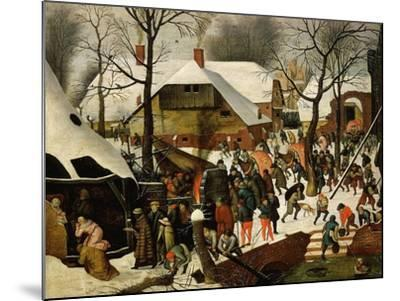 The Adoration of the Magi-Pieter Brueghel the Younger-Mounted Giclee Print