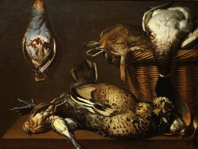 Nature Morte Aux Gibier (Still Life with Game), 1671-Francois Mather-Stretched Canvas Print