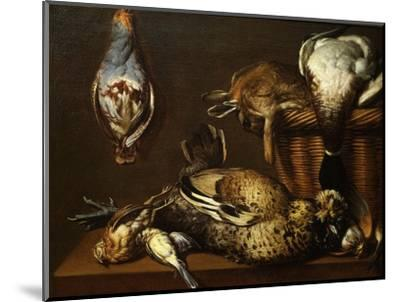 Nature Morte Aux Gibier (Still Life with Game), 1671-Francois Mather-Mounted Giclee Print