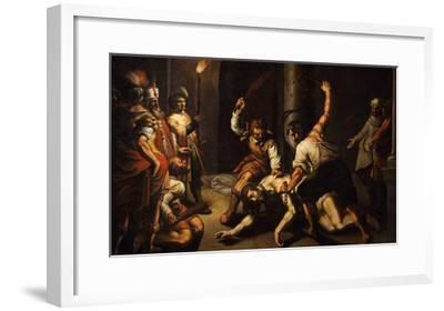 The Flagellation of Christ-Jeremie Le Pilleur-Framed Giclee Print