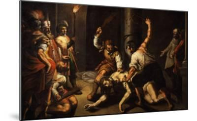 The Flagellation of Christ-Jeremie Le Pilleur-Mounted Giclee Print
