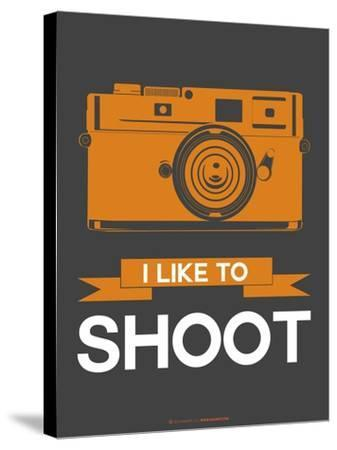 I Like to Shoot 1-NaxArt-Stretched Canvas Print