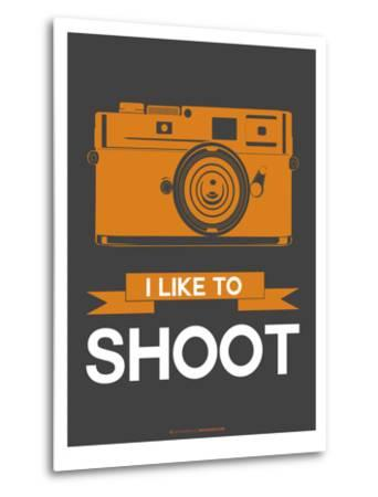I Like to Shoot 1-NaxArt-Metal Print
