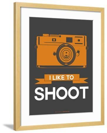 I Like to Shoot 1-NaxArt-Framed Art Print