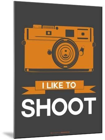 I Like to Shoot 1-NaxArt-Mounted Art Print