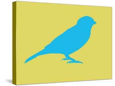 Blue Bird-NaxArt-Stretched Canvas Print