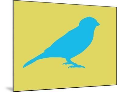 Blue Bird-NaxArt-Mounted Art Print