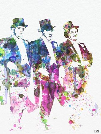 Three Stooges-NaxArt-Framed Premium Giclee Print