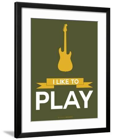 I Like to Play 6-NaxArt-Framed Art Print
