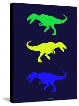 Dinosaur Family 23-NaxArt-Stretched Canvas Print
