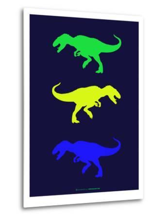 Dinosaur Family 23-NaxArt-Metal Print
