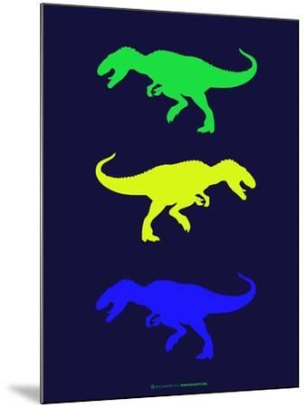Dinosaur Family 23-NaxArt-Mounted Art Print