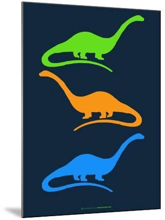 Dinosaur Family 25-NaxArt-Mounted Art Print