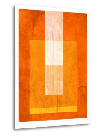 Orange Paper 2-NaxArt-Metal Print