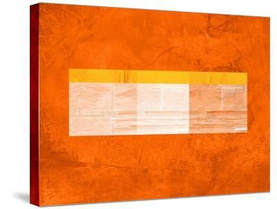 Orange Paper 3-NaxArt-Stretched Canvas Print