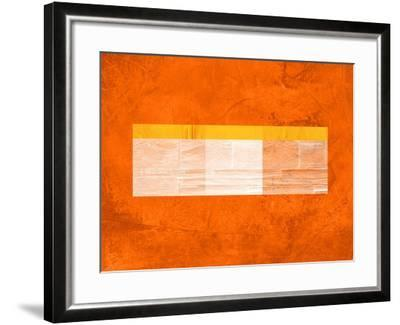 Orange Paper 3-NaxArt-Framed Art Print