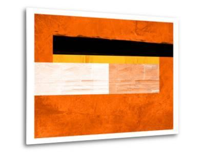 Orange Paper 4-NaxArt-Metal Print