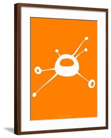 Funny Shape Zom 1-NaxArt-Framed Art Print