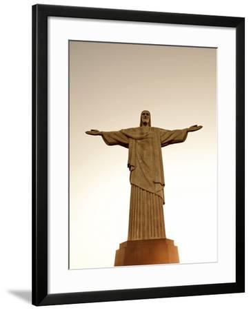 Sbrazil, Rio De Janeiro State, Rio De Janeiro City, Corcovado-Alex Robinson-Framed Photographic Print