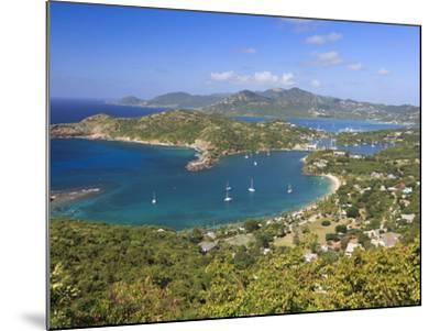 Caribbean, Antigua and Barbuda, English Harbour from Shirley's Heights-Michele Falzone-Mounted Photographic Print