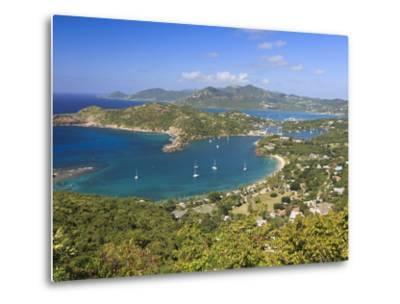 Caribbean, Antigua and Barbuda, English Harbour from Shirley's Heights-Michele Falzone-Metal Print