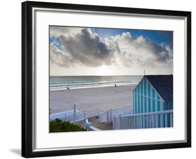 Bahamas, Eleuthera Island, Harbour Island, Pink Sands Beach-Walter Bibikow-Framed Photographic Print