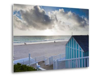 Bahamas, Eleuthera Island, Harbour Island, Pink Sands Beach-Walter Bibikow-Metal Print