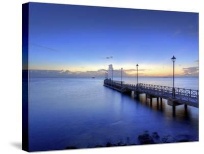 Caribbean, Barbados, Speighstown, Boat Jetty-Michele Falzone-Stretched Canvas Print