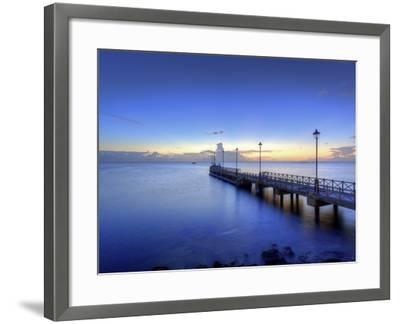 Caribbean, Barbados, Speighstown, Boat Jetty-Michele Falzone-Framed Photographic Print
