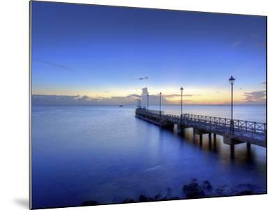 Caribbean, Barbados, Speighstown, Boat Jetty-Michele Falzone-Mounted Photographic Print