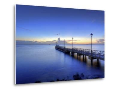 Caribbean, Barbados, Speighstown, Boat Jetty-Michele Falzone-Metal Print