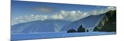 The North Coast of Madeira Island, Near Ribeira Da Janela, Portugal-Mauricio Abreu-Mounted Photographic Print