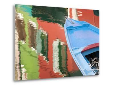 Reflections in Burano, Veneto Region, Italy-Nadia Isakova-Metal Print