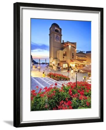 Italy, Campania, Napoli District, Capri-Francesco Iacobelli-Framed Photographic Print