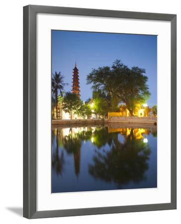 Tran Quoc Pagoda, West Lake (Ho Tay), Hanoi, Vietnam-Jon Arnold-Framed Photographic Print