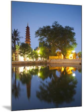 Tran Quoc Pagoda, West Lake (Ho Tay), Hanoi, Vietnam-Jon Arnold-Mounted Photographic Print