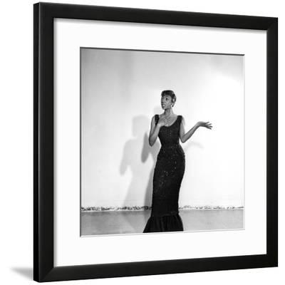 Josephine Premice-Isaac Sutton-Framed Photographic Print
