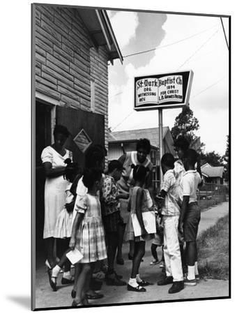 Barbara Jordan - 1967-Bill Gillohm-Mounted Photographic Print