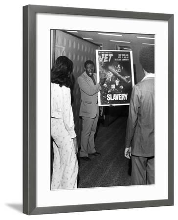 Godfrey Cambridge - 1973-Isaac Sutton-Framed Photographic Print