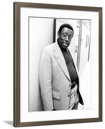 Godfrey Cambridge-Norman Hunter-Framed Photographic Print