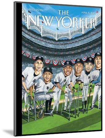 The New Yorker Cover - April 8, 2013-Mark Ulriksen-Mounted Premium Giclee Print