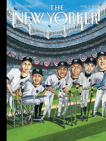 The New Yorker Cover - April 8, 2013-Mark Ulriksen-Stretched Canvas Print
