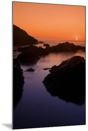 Sonoma Sunset-Vincent James-Mounted Photographic Print
