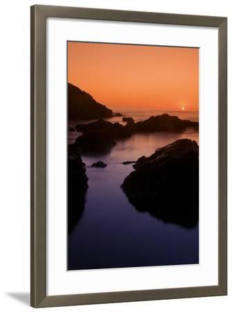 Sonoma Sunset-Vincent James-Framed Photographic Print