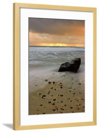 Sunset Rocks-Vincent James-Framed Photographic Print